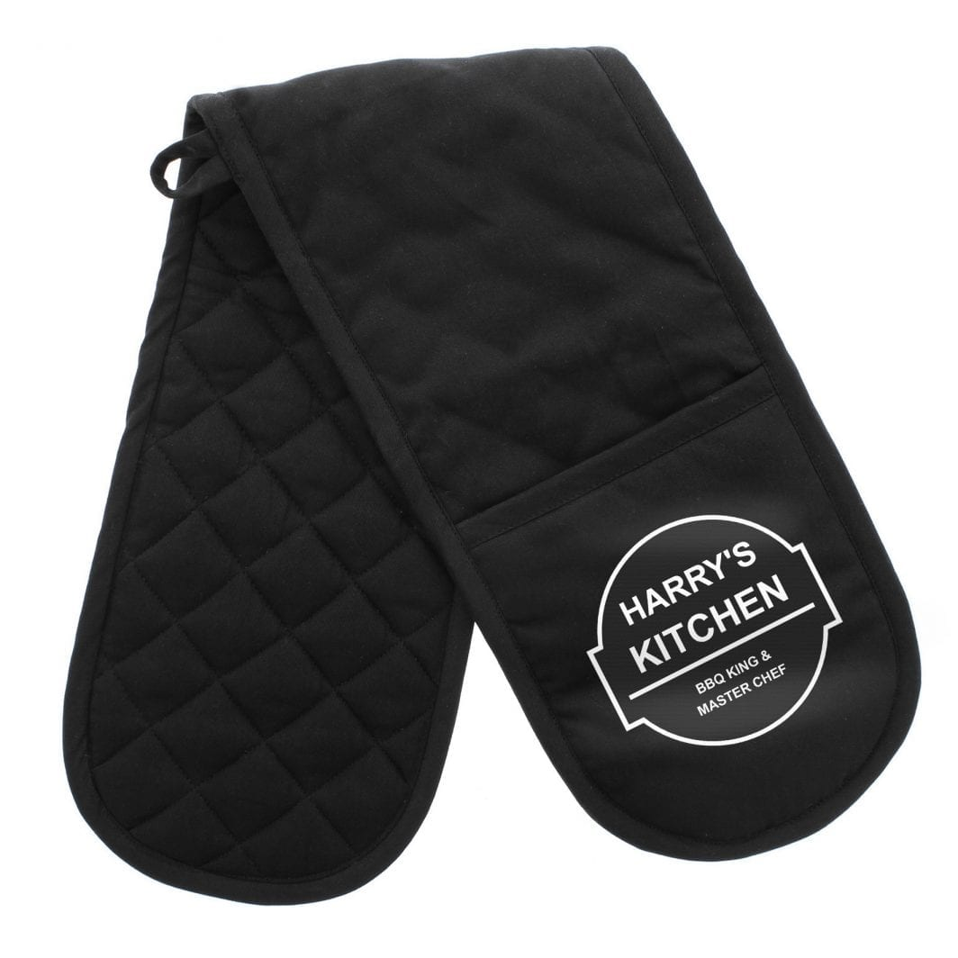 plushbarn personalised gifts for him her Personalised Oven Gloves