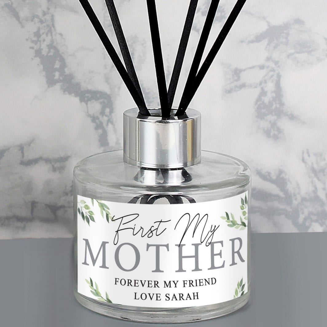 plushbarn personalised gifts for her Personalised Botanical Reed Diffuser