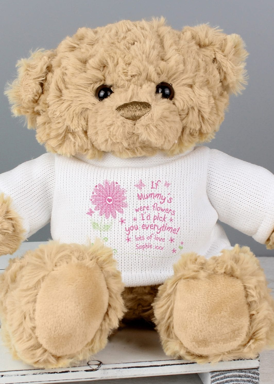 plushbarn personalised gifts for her Personalised I'd Pick You Teddy Bear