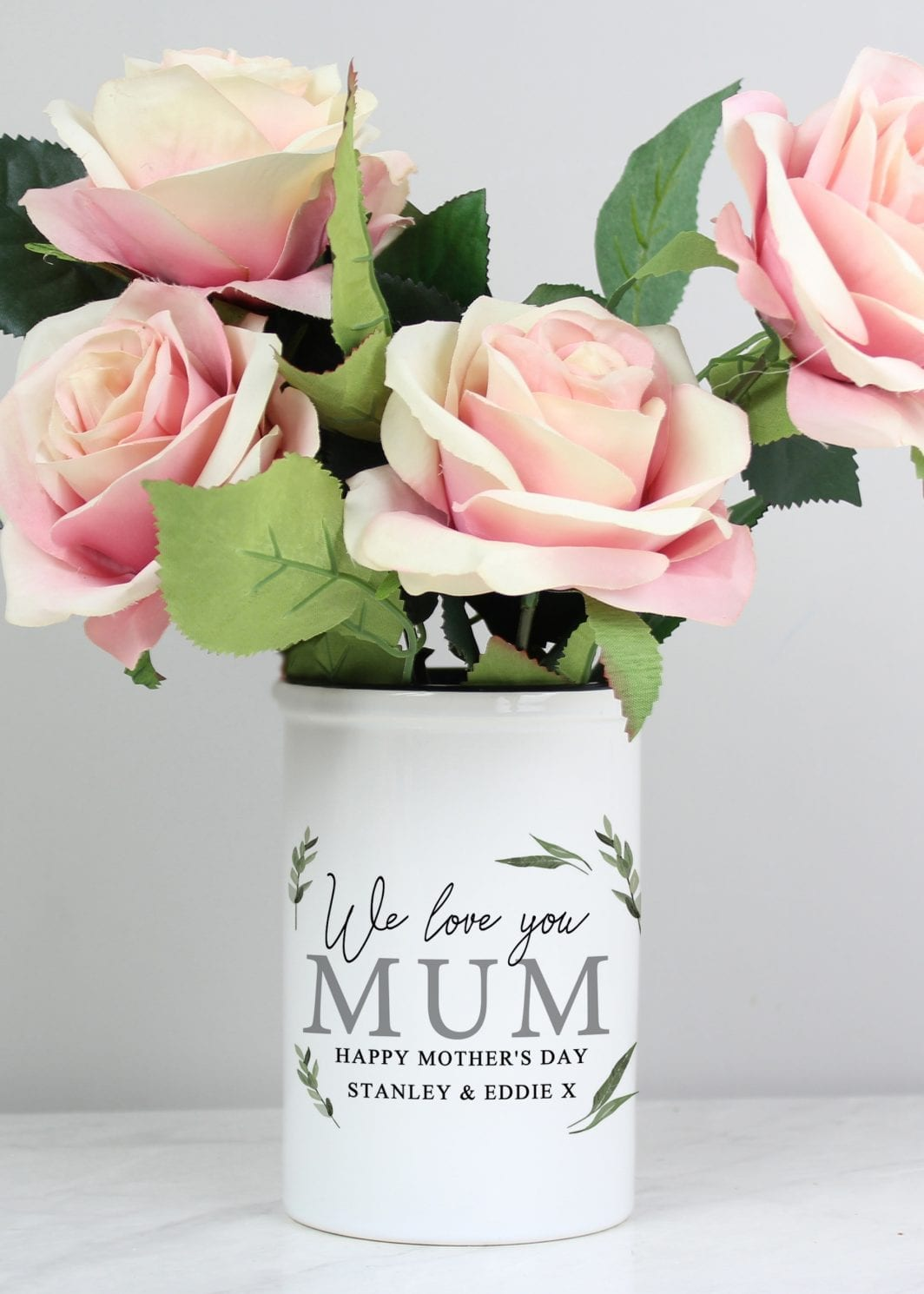 plushbarn personalised gifts for her vase