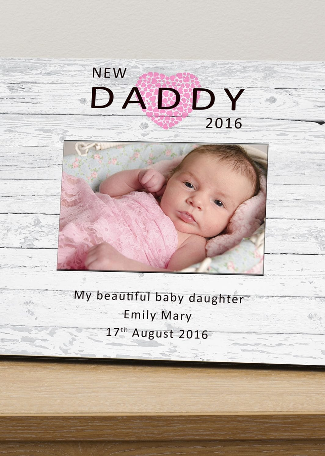 plushbarn personalised gifts plush barn new baby picture frame for daddy